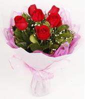 9 adet kaliteli görsel kirmizi gül  Burdur çiçek gönderme