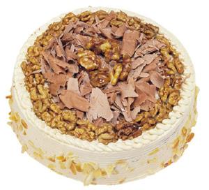 Karamelli 4 ile 6 kisilik yas pasta  Burdur çiçek yolla