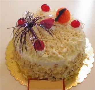 pasta siparisi 4 ile 6 kisilik yaspasta mis lezzette  Burdur çiçekçi telefonları