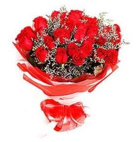 Burdur çiçek mağazası , çiçekçi adresleri  12 adet kırmızı güllerden görsel buket