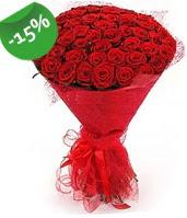 51 adet kırmızı gül buketi özel hissedenlere  Burdur çiçek siparişi sitesi