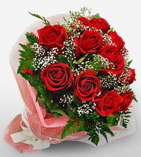 12 adet kırmızı güllerden kaliteli gül  Burdur çiçek siparişi vermek