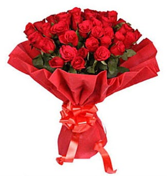 41 adet gülden görsel buket  Burdur çiçek satışı
