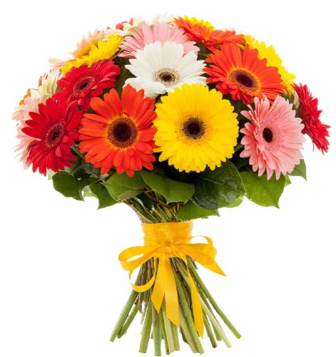 Gerbera demeti buketi  Burdur çiçek satışı