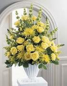 Burdur çiçek siparişi sitesi  sari güllerden sebboy tanzim çiçek siparisi
