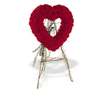 Burdur internetten çiçek satışı  karanfillerden kalp pano