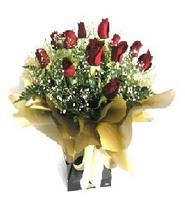 Burdur internetten çiçek siparişi  11 adet kirmizi gül  buketi
