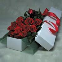 Burdur online çiçek gönderme sipariş  11 adet gülden kutu