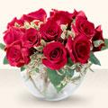 Burdur çiçek online çiçek siparişi  mika yada cam içerisinde 10 gül - sevenler için ideal seçim -