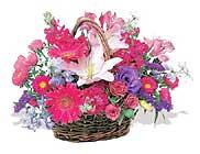 küçük karisik özel sepet   Burdur çiçek online çiçek siparişi