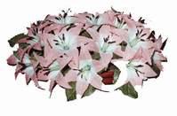yapay karisik çiçek sepeti   Burdur çiçekçi mağazası