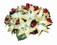yapay karisik çiçek sepeti   Burdur internetten çiçek siparişi
