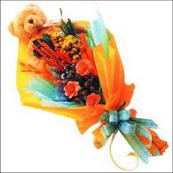 ayicik gül ve kir çiçekleri   Burdur çiçekçi mağazası
