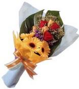 güller ve gerbera çiçekleri   Burdur çiçek gönderme sitemiz güvenlidir