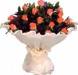 11 adet gonca gül buket   Burdur çiçek gönderme sitemiz güvenlidir