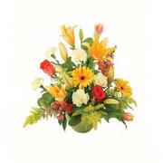 karisik renkli çiçekler tanzim   Burdur çiçek gönderme sitemiz güvenlidir