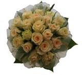 12 adet sari güllerden buket   Burdur uluslararası çiçek gönderme