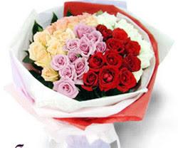 SEVENLERE ÖZEL 51 ADET GÜL  Burdur internetten çiçek satışı