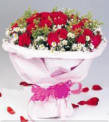 Burdur internetten çiçek satışı  12 ADET KIRMIZI GÜL BUKETI