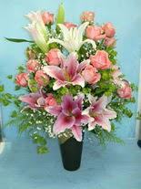 Burdur internetten çiçek satışı  cam vazo içerisinde 21 gül 1 kazablanka
