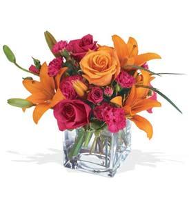 Burdur çiçek mağazası , çiçekçi adresleri  cam içerisinde kir çiçekleri demeti