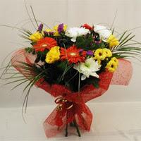 Burdur hediye çiçek yolla  Karisik mevsim demeti