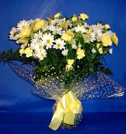 Burdur hediye çiçek yolla  sade mevsim demeti buketi sade ve özel