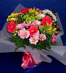 karisik sade mevsim demetligi   Burdur 14 şubat sevgililer günü çiçek