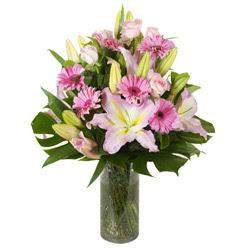 vazo içerisinde karisik mevsim çiçekleri  Burdur internetten çiçek siparişi