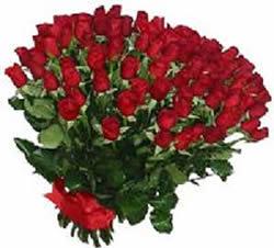 51 adet kirmizi gül buketi  Burdur çiçekçiler