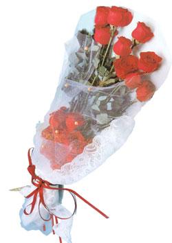 11 adet kirmizi güller buket tanzimi   Burdur çiçek siparişi sitesi