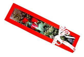 Burdur hediye çiçek yolla  Kutuda 3 adet gül
