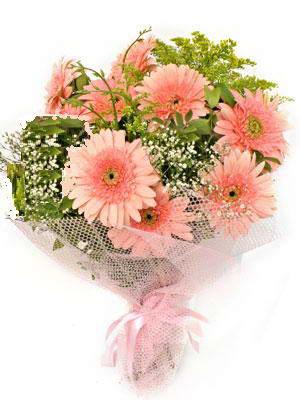 Burdur çiçek satışı  11 adet gerbera çiçegi buketi