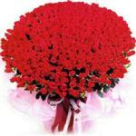 Burdur online çiçekçi , çiçek siparişi  1001 adet kirmizi gülden çiçek tanzimi