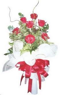 Burdur çiçek siparişi sitesi  7 adet kirmizi gül buketi