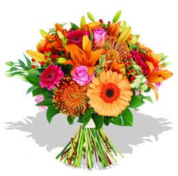 Burdur çiçekçi telefonları  Karisik kir çiçeklerinden görsel demet