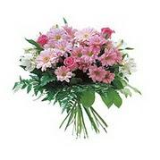 karisik kir çiçek demeti  Burdur çiçek satışı