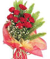 11 adet kaliteli görsel kirmizi gül  Burdur çiçek satışı