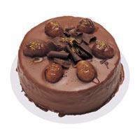 Kestaneli çikolatali yas pasta  Burdur çiçek , çiçekçi , çiçekçilik