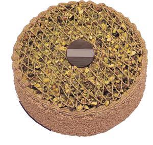 Krokanli 4 ile 6 kisilik yas pasta leziz  Burdur çiçek gönderme