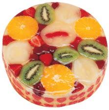 Meyvali 4 ile 6 kisilik yas pasta leziz  Burdur hediye çiçek yolla