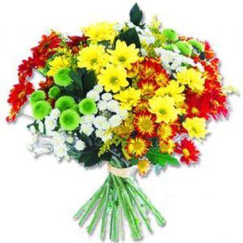 Kir çiçeklerinden buket modeli  Burdur online çiçek gönderme sipariş