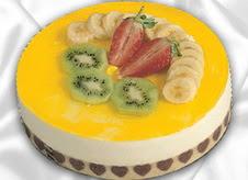 pasta gönderme 4 ile 6 kisilik yas pasta muzlu yaspasta  Burdur çiçek mağazası , çiçekçi adresleri