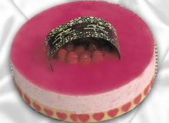 pasta siparisi 4 ile 6 kisilik yas pasta framboaz yaspasta  Burdur güvenli kaliteli hızlı çiçek