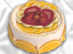 leziz pastane 4 ile 6 kisilik yas pasta meyvali yaspasta  Burdur kaliteli taze ve ucuz çiçekler