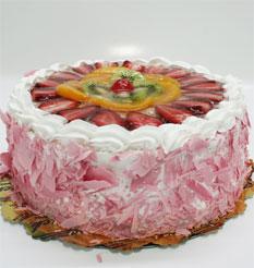 görsel pastacilar 4 ile 6 kisilik yas pasta karisik meyvali  Burdur çiçek online çiçek siparişi