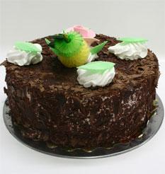 4 ile 6 kisilik yas pasta çikolatali leziz pastane ürünü  Burdur cicekciler , cicek siparisi