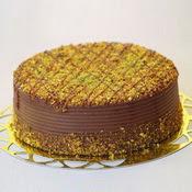 sanatsal pastaci 4 ile 6 kisilik krokan çikolatali yas pasta  Burdur cicek , cicekci