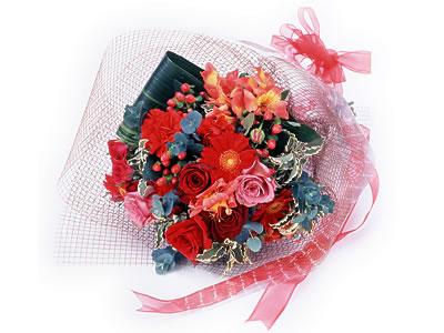 Karisik buket çiçek modeli sevilenlere  Burdur uluslararası çiçek gönderme