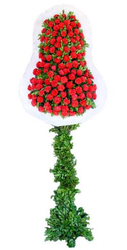 Dügün nikah açilis çiçekleri sepet modeli  Burdur İnternetten çiçek siparişi
